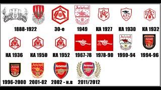 Как менялись логотипы ведущих английских клубов От Арсенала до Манчестер Юнайтед