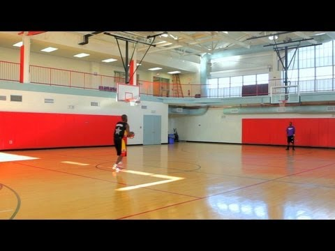 How to make a half court shot basketball youtube for How to build basketball court