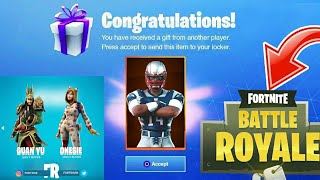 HAVE A FREE SKINS PACK - ONE AVION available on FORTNITE Battle Royale 😱