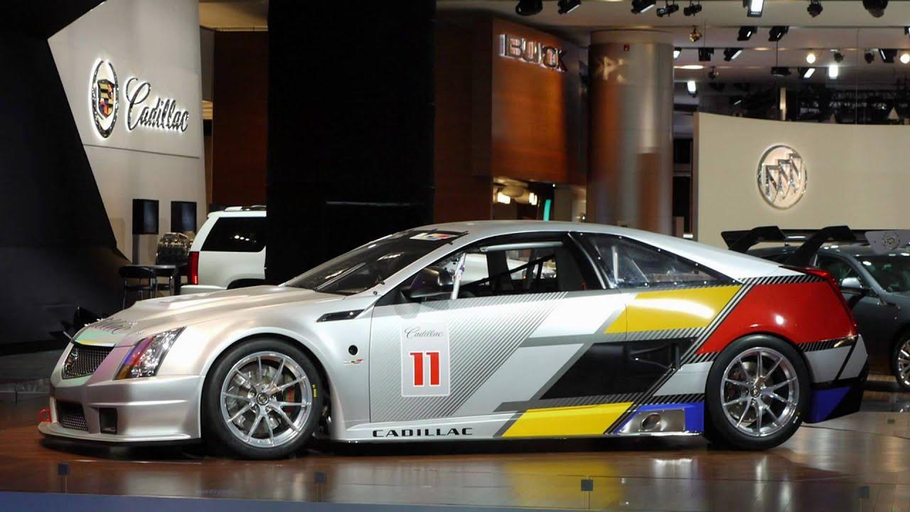 2017 Cadillac Cts V Coupe Race Car Naias