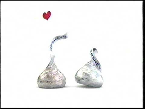 What happens when a Hershey's Kiss gets kissed 2004