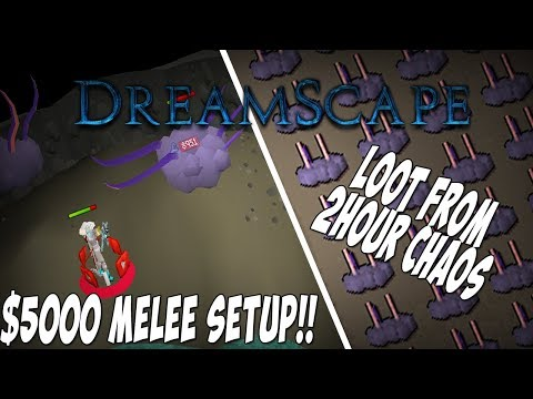 *THE MOST INSANE MELEE SETUP ($5000+)!!* Loot From 1 Hour of Chaos Elemental + INSANE Giveaway!