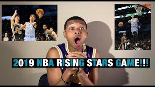 KYLE KUZMA TOOK HOME THE MVP!!! 2019 RISING STARS GAME REACTION