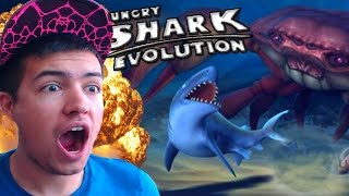 Hungry Shark Evolution | BABY REEF VS GIANT BOSS CRAB!? | CAN THIS BE DONE?!