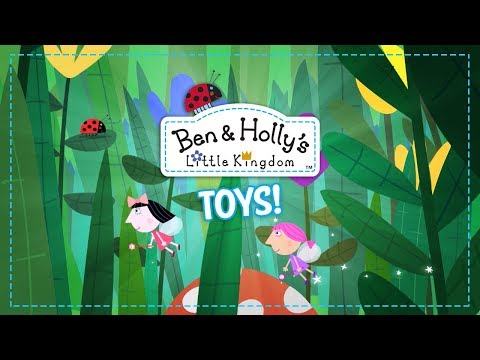 Ben & Holly's Little Kingdom Toy Line! | A Toy Insider Play by Play