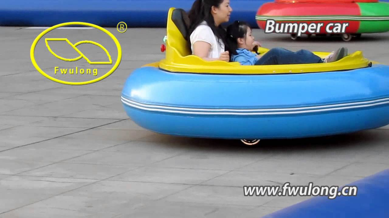 Inflatable Bumper Car Youtube