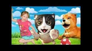 Играем в СИМУЛЯТОР КОТА С Софией Cat Simulator Детский летсплей