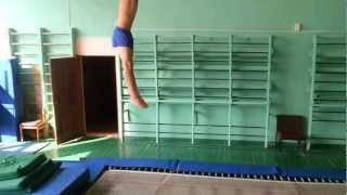 Спортивная гимнастика прыжок