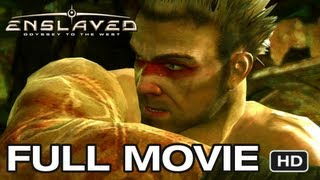 Enslaved Odyssey to the West - FULL MOVIE [HD] Xbox 360 PS3 (Full Game Walkthrough)
