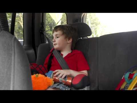 4 year old singing Sail by AWOLNATION