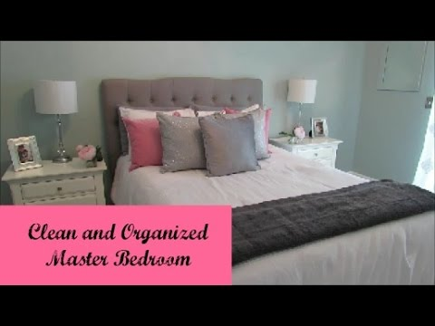 Clean And Organized Master Bedroom | Week 9 Clean And Organized Home  Challenge   YouTube