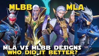 MLA VS MLBB HERO DESIGNS! | DI…