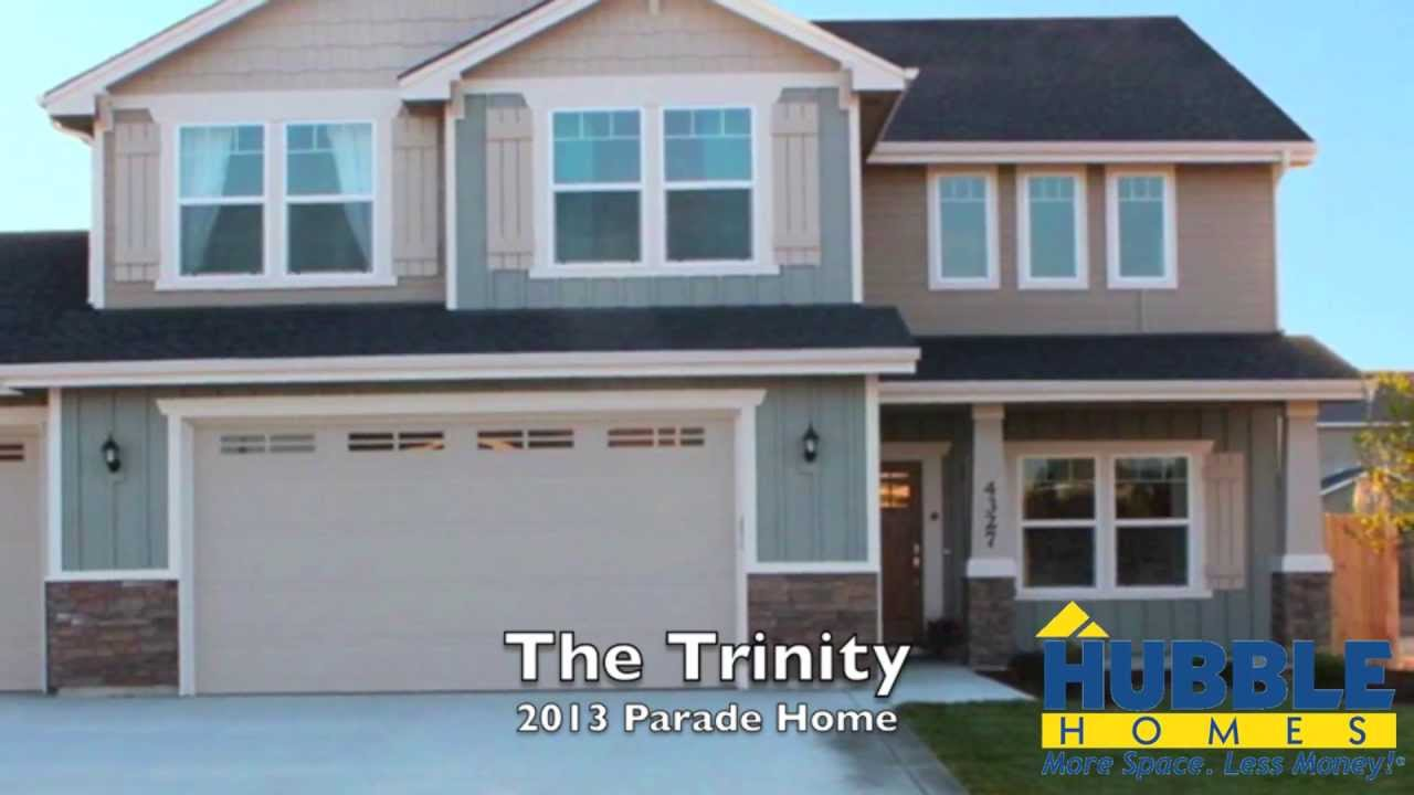 Hubble Homes 2013 Parade Home at Solitude Place- The Trinity - YouTube