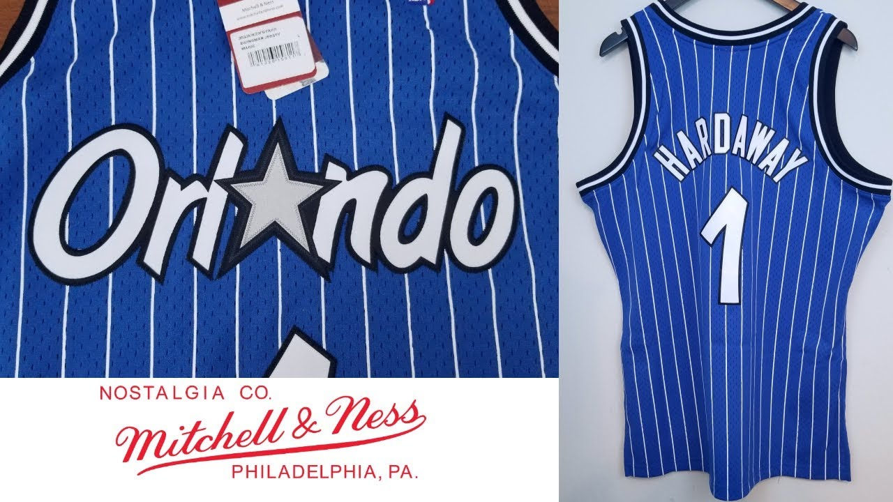the best attitude c9b73 adcfc Mitchell & Ness Swingman Jersey Orlando Magic Penny Hardaway ペニー・ハーダウェイ  ユニフォームレビュー