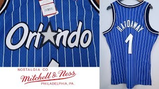 Mitchell & Ness Swingman Jersey Orlando Magic Penny Hardaway ペニー・ハーダウェイ ユニフォームレビュー
