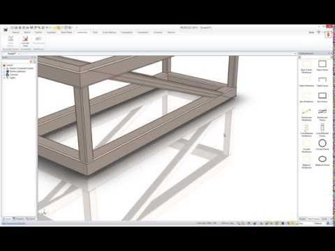 Structural Steel Weldment Creation