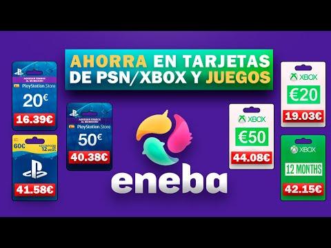 LA MEJOR PÁGINA PARA COMPRAR TARJETAS BARATAS DE PSN Y XBOX | ENEBA | CÓDIGO DESCUENTO PIKAHIMOVIC