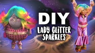 "Lady Glitter Sparkles from ""Trolls"" 