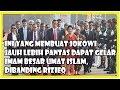 Urat Takutnya Sudah Putus, Jokowi Jauh Lebih Pantas Dapat Gelar Imam Besar Umat Islam dibanding Rizi