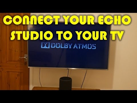 HOW TO CONNECT ECHO STUDIO TO YOUR TV