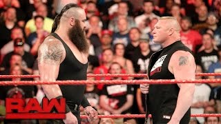 Braun Strowman puts Brock Lesnar on notice: Raw, April 3, 2017 thumbnail