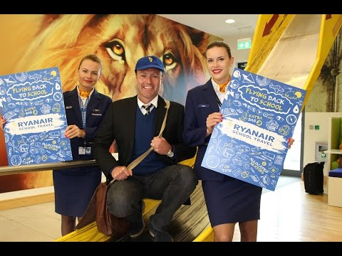 Ryanair School Travel Launch 2016