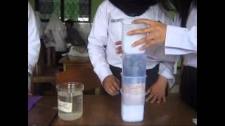 Proses Penjernihan Air SMAN 14 Tangerang