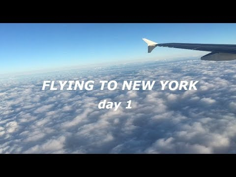 FLYING TO NEW YORK 🌆Rochester NY Day 1