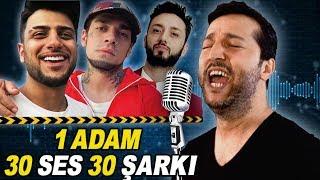 1 ADAM 30 SES 30 ŞARKI / YENİ TAKLİTLER