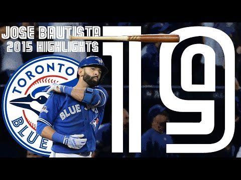 Jose Bautista | 2015 Blue Jays Highlights ᴴᴰ