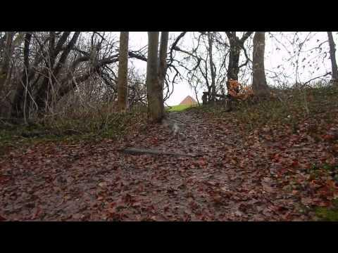 Vegan Flat Foot Running - Dangerous Creek Crossing