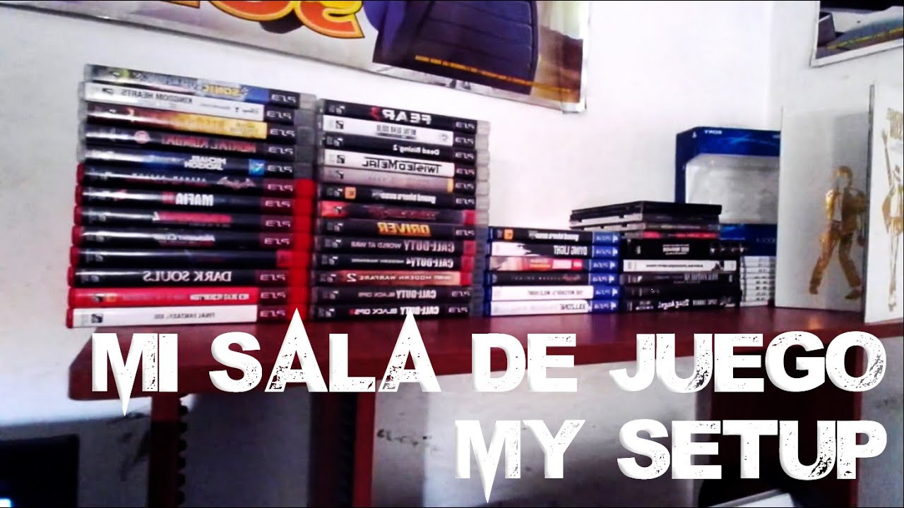 Sala Set Set Up Mi Sala De Videojuegos Set Up Youtube