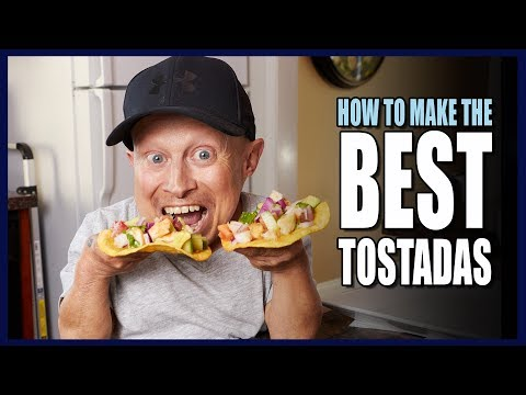 Thumbnail: HOW TO MAKE TASTY TOSTADAS | Cooking With Verne