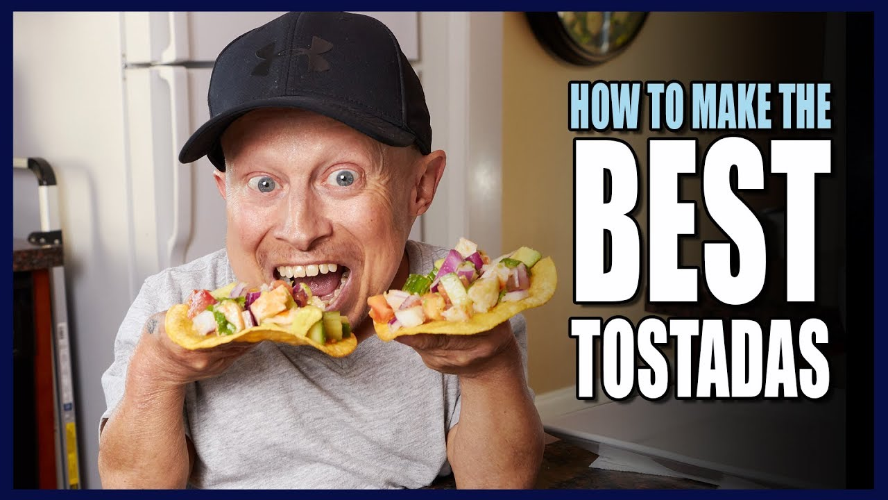 HOW TO MAKE TASTY TOSTADAS | Cooking With Verne - YouTube