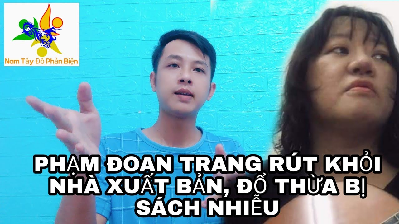 Phạm Đoan Trang rút lui khỏi nhà xuất bản, đưa ra những lý do vụ vạ cho chính quyền như thế nào ?