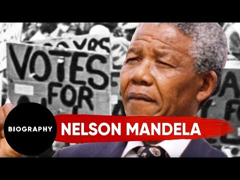 Nelson Mandela - Civil Rights Activist & President Of South Africa | Mini Bio | BIO