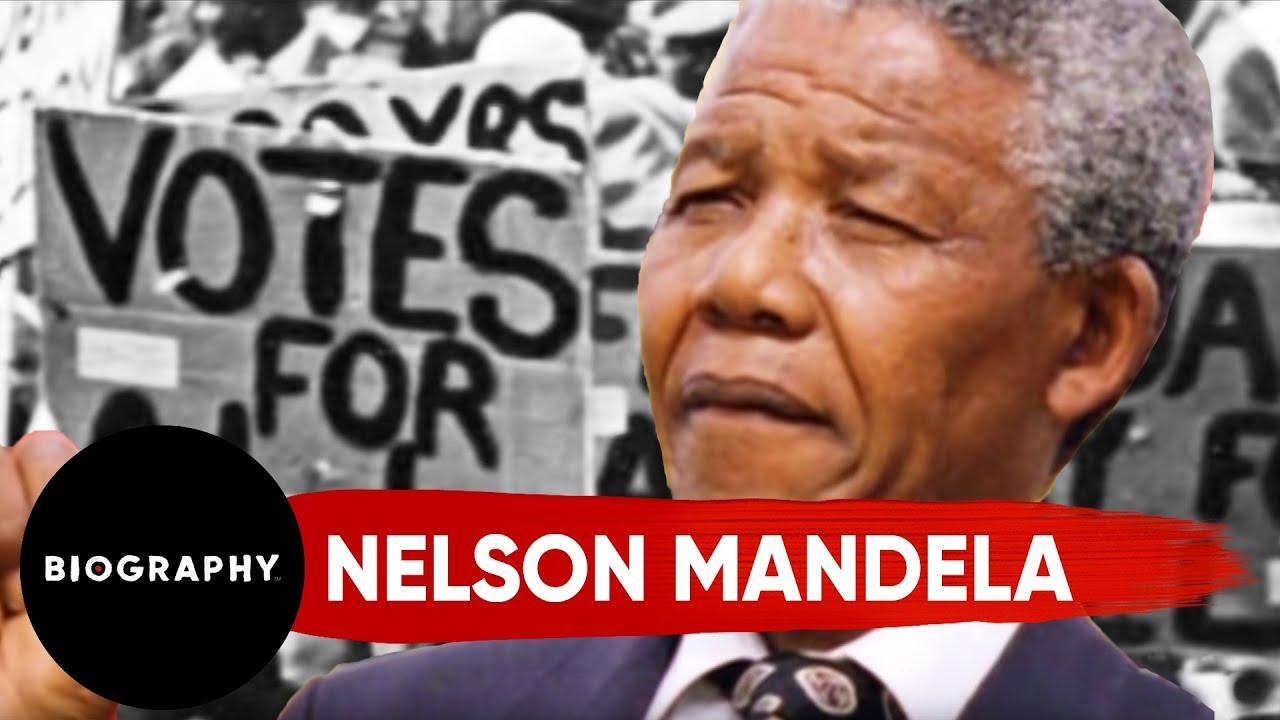 Nelson Mandela - Civil Rights Activist & President Of South Africa   Mini Bio   BIO
