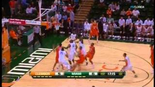 Trey McKinney Jones (#4) University of Miami Basketball Game Footage