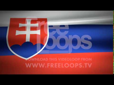 Slovakia Flag from FreeLoops.tv