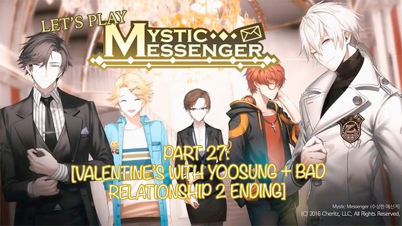 Let S Play Mystic Messenger Part 27 Valentine S Day With Yoosung