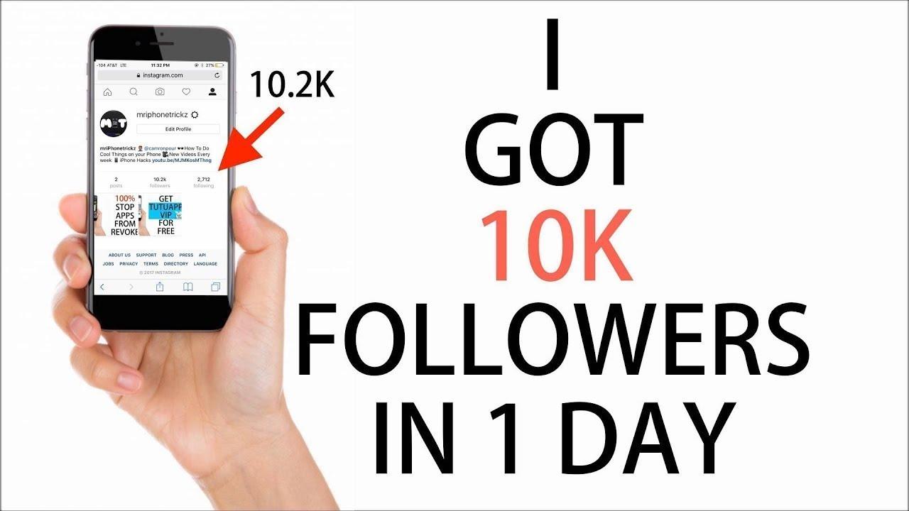 Best Apps for FREE Instagram FOLLOWERS!! (2018) 10K Followers a Day!!