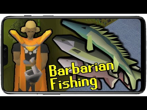 Barbarian Fishing   OSRS Mobile Only Ironman [S1E11]