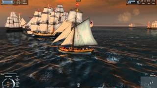 Naval Action Alpha - #7 - Cutter PvP - 1080p HQ
