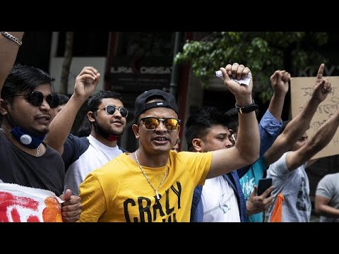 شاهد: مظاهرات في اليونان احتجاجا على قرار إخلاء المساكن الموقتة للاجئين…  - 22:58-2020 / 6 / 20