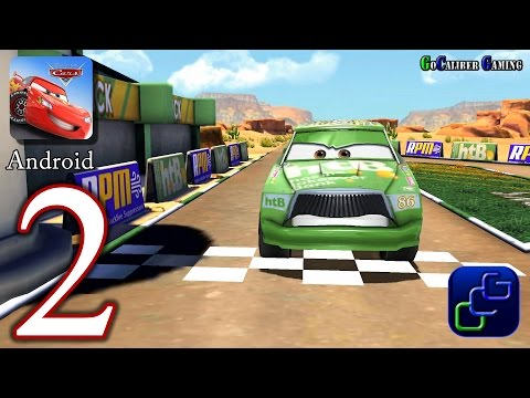 Cars Fast As Lightning Android Walkthrough - Part 2 - Chick Hicks Race Track