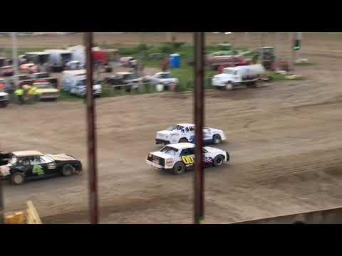 7W Waldorf Racing Purestock Feature 6-16-18 Viking Speedway