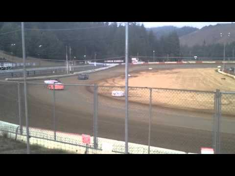8 22 15 late model trophy dash coos bay speedway