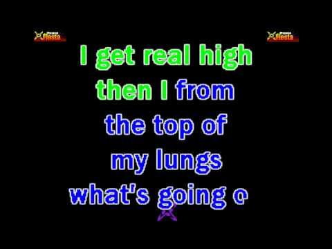 4 Non Blondes  Whats Up KARAOKE
