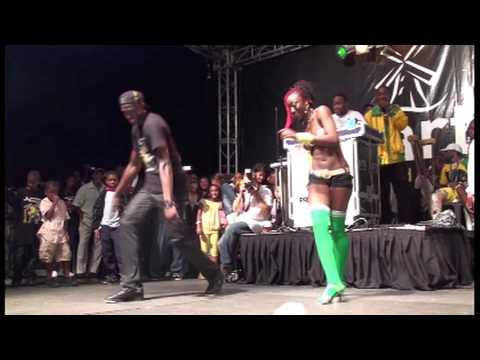 Usain Bolt Welcome Home Dance Live From Trelawny