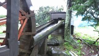 伝承園の水車
